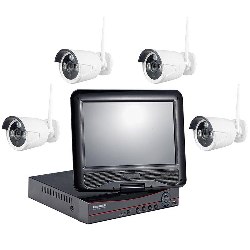 960P 4CH WIFI NVR KIT  AP-K9604E-W-PE3013-W