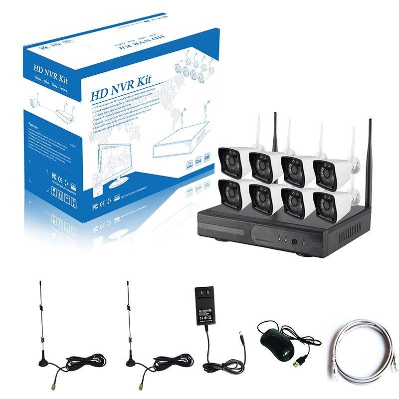 960P 8CH WIFI NVR KIT   AP-K9608W-PA3013W