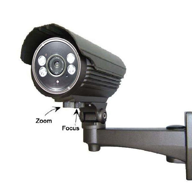 4ARRAY LED AF  LENS BULLET  IP CAMERA 1055