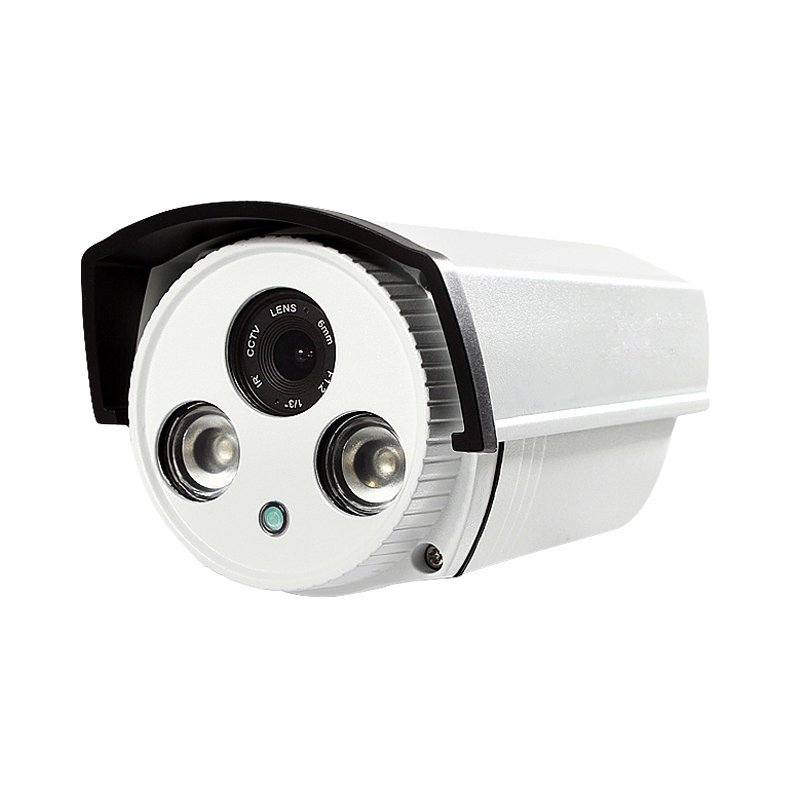 FIXED LENS 2 ARRAY LED BULLET IP CAMERA  F1151