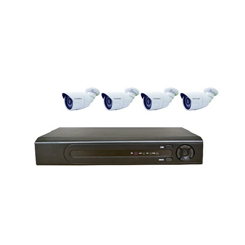 1080P 4CH POE NVR KIT  AP-KIT4IP202-POE