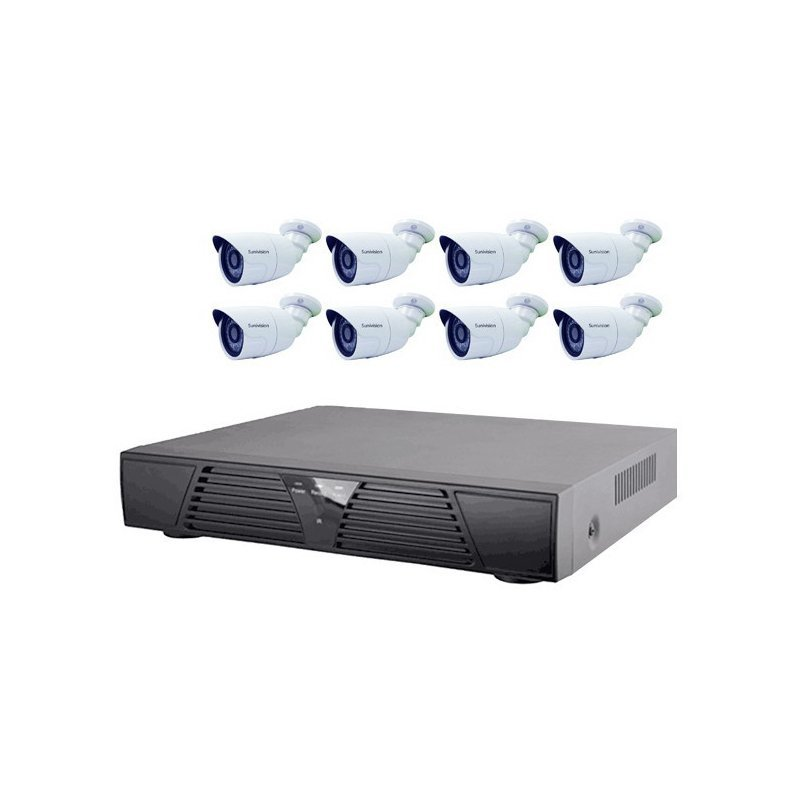 1080P 8CH NVR KIT AP-KIT8IP201