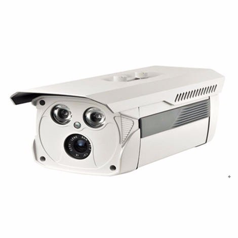 FIXED LENS 2ARRAY LED BULLET CAMERA  F003