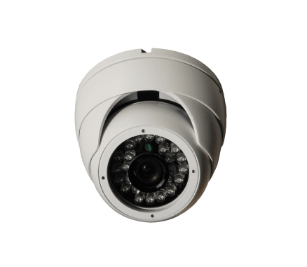 FIXED LENS 24LED EYE BALL DOME CAMERA 14SGH