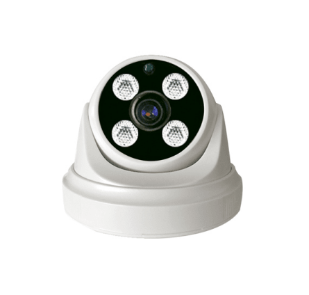 FIXED LENS 4 ARRAY LED DOME IP CAMERA B050